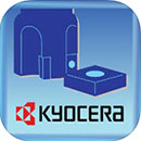 Kyocera Cutting Tools app for iPhone, iPad and Android